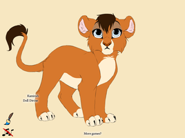 Lion King OC by xMenimex