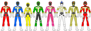 Fusion Rangers 29 by firebirdmaximus