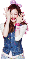 SNSD Kiss Me (Baby-G) Tiffany Render by classicluv