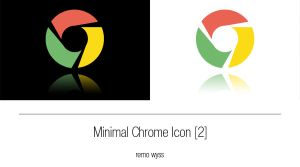 [icon] Minimal Chrome Icon (another one) by Primofenax