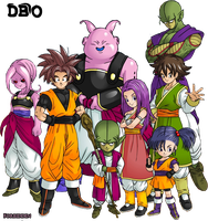 Renders Dragon ball online by forbidden-time