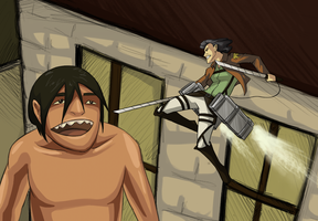Attack On Lin by whutnot
