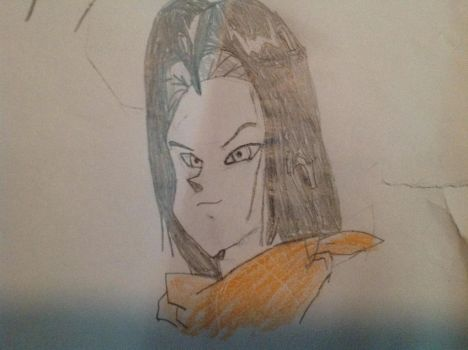 Android 17 by Bravewolf11
