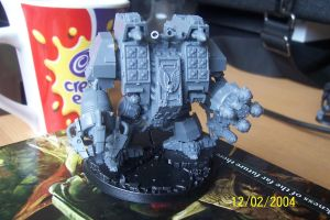 Unpainted Ironclad Dreadnought by CharlieMcElroy5