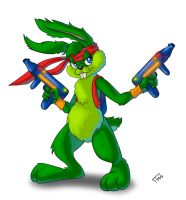 Jazz Jackrabbit by ruusuvesi