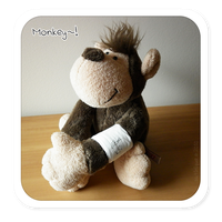 Plushies: NICI - Monkey by satinique