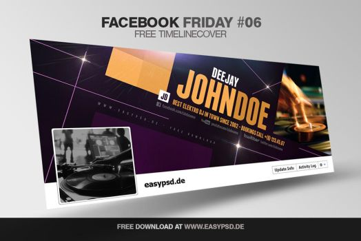 free facebook friday #06 by pixelfrei