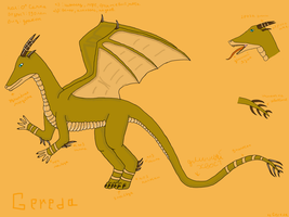 Dragon Gereda by Spaik-The-Wolf