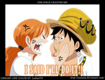 One Piece - Chapter 829 - I Said I'll Do It! by LuNaOTP
