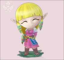 The Lovely Chibi Zelda by Lady-Zelda-of-Hyrule