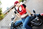 Claire Redfield Code Veronica Cosplay 7 by CLeigh-Cosplay