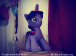 Twilight Sparkle Smile Plushie by Maxiblash