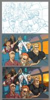 Venture Bros Process by Quirkilicious