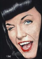 Bettie Page Promo BP4 by Dr-Horrible