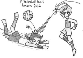 APH-2012 Olympics USA China Volleyball Semifinals by Nintendraw