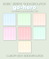 Custom Box BG - Basic Stripes by go-hero