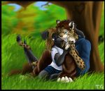 COMMISION - Sweethearts by kaleidofly