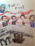 TYT Closer with Cenk, Ana, Ben, Jayar and Jimmy by Chibifangirl01