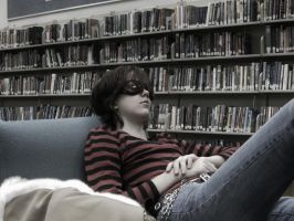 Library's are..Tiring? by MightyNugget