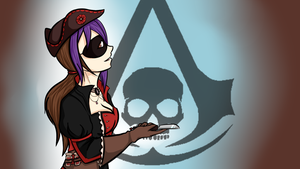 Assassins Creed IV - Miss Minx is Queen by cyberbubble99