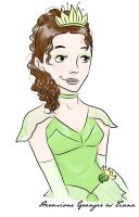Hermione Granger as Tiana by periru3