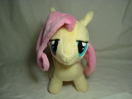 Fluttershy filly - front by PlanetPlush