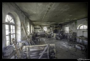 The old smithy ... by MooseBag