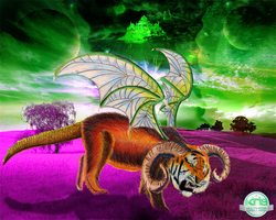 Liger Creature by knightmultimedia