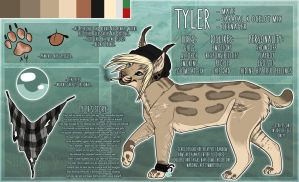 .: Tyler Official Sheet Ref 2014 :. by SillyTheWolf