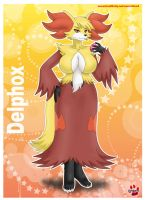 Pokemorph Delphox by shinn3