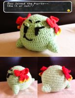COMMISSION: Paper Mario - Lady Bow Amigurumi by lithharbor