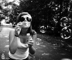 les bubbles by tencza