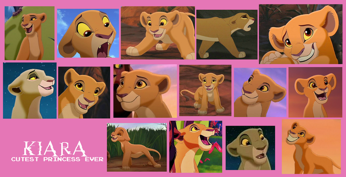 Kiara From Lion King 2 Collage by Scamp4553
