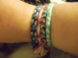 Home made Braclets by shadowburn88