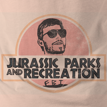Jurassic Parks and Recreation by MessyPandas