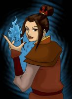 Azula's flame by IronicChoice