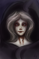 Undead Catelyn by Dame-Cruz