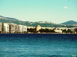 Thessaloniki by BubbleCloud