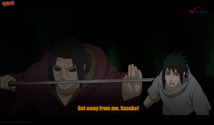 Get away from me, Sasuke! by aConst