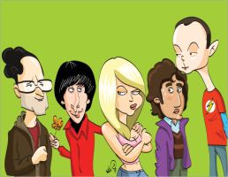 The big bang theory by WALHH