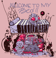 Welcom to my bed by hosmane