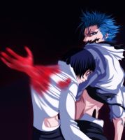 Grimmjow and Luppi Commission by iMarx67