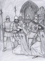 Arrest  of the Templars by dashinvaine