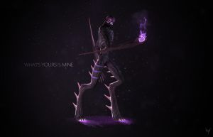 What's yours is mine - Enderman FanArt by Victim753