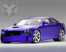 dodge charger srt-8 by immortalwolfhunter
