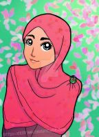 Lady Muslimah Remake by didihime