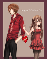 Brent Happy Valentine's Day by MizumiHisui