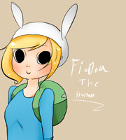Fionna The Human by SplicedLamia