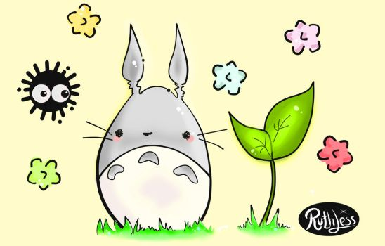 Totoro by RuthlessG