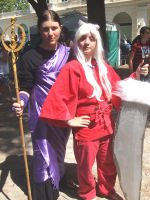 Inuyasha and Miroku by SuperCosplay
